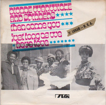 "Dionne Warwick and Spinners – ""Then Came You"" Portuguese single sleeve"