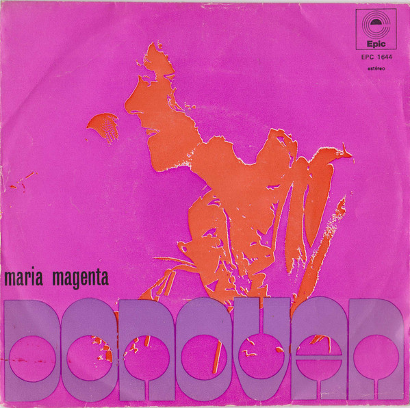 "Donovan – ""I Like You"" / ""Earth Sign Man"" and ""Maria Magenta"" Portuguese single cover 2"