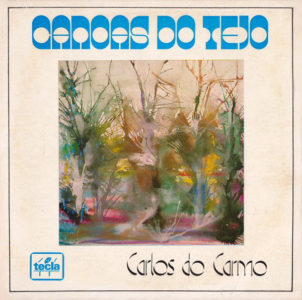 "Carlos do Carmo – ""Canoas Do Tejo"" single cover"