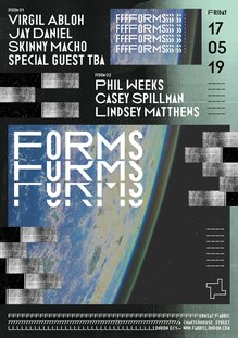 Fabric — Forms poster series 2019