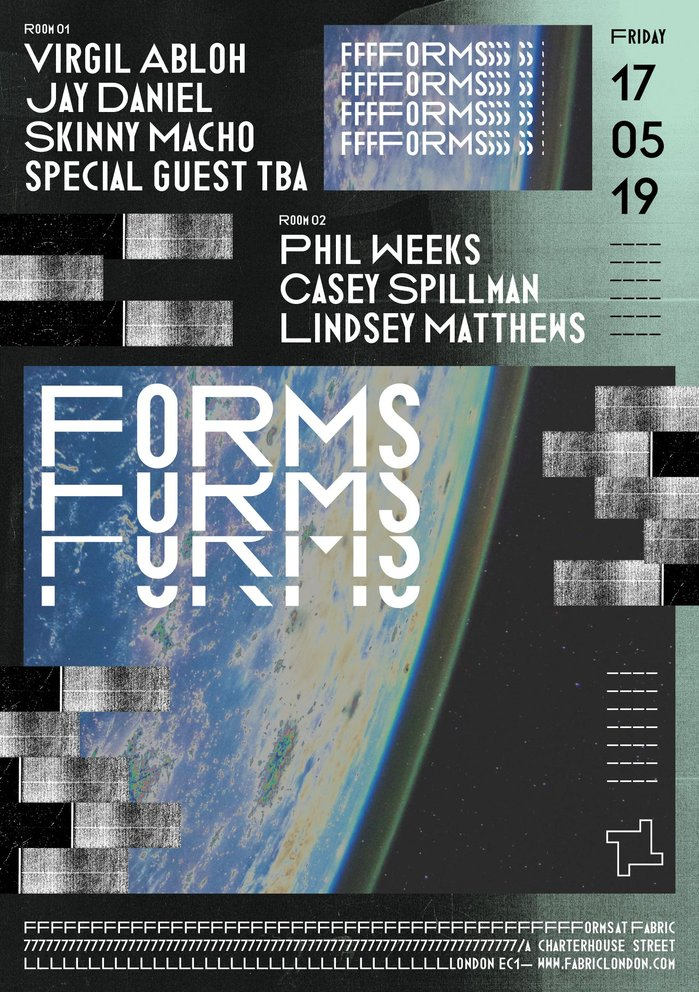 Fabric — Forms poster series 2019 1