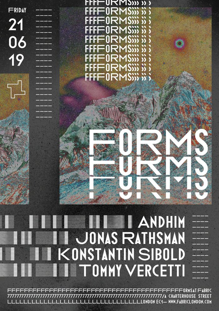 Fabric — Forms poster series 2019 2