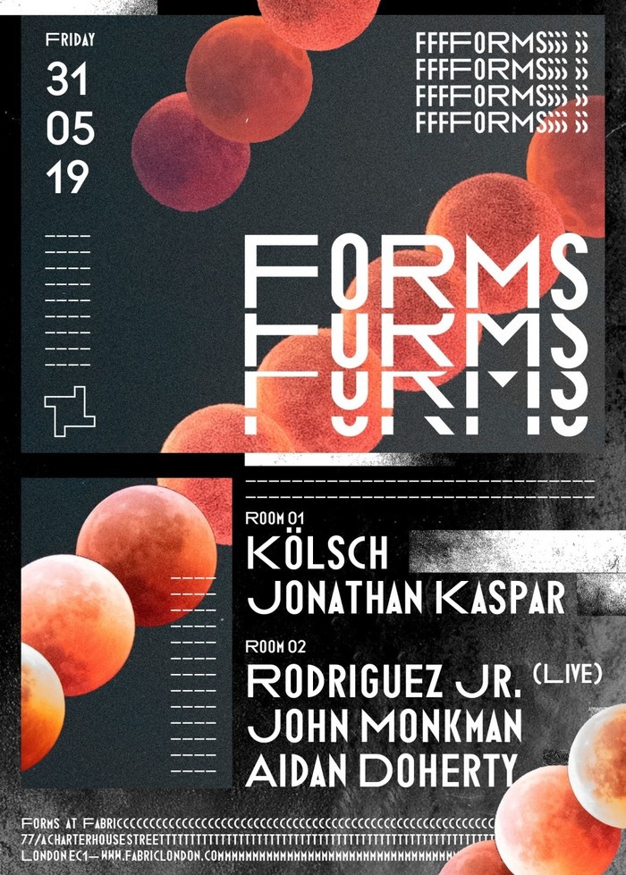 Fabric — Forms poster series 2019 3