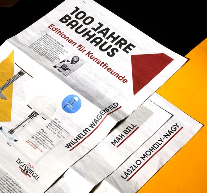 Der Tagesspiegel Bauhaus supplement 1