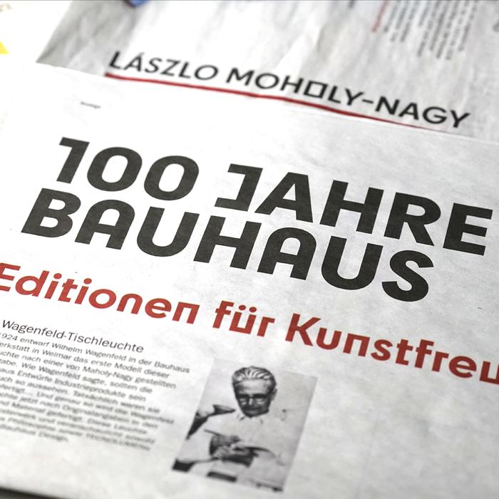 Der Tagesspiegel Bauhaus supplement 2