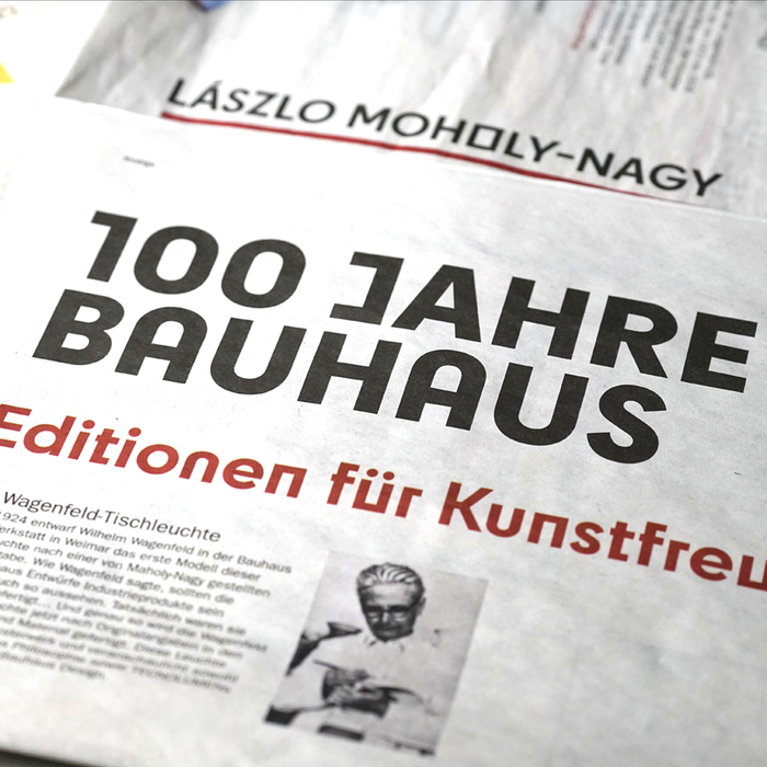 Der Tagesspiegel Bauhaus supplement 2