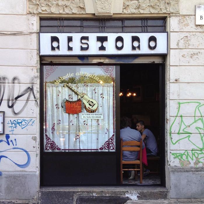 Ristoro Tajoli, Milano 1