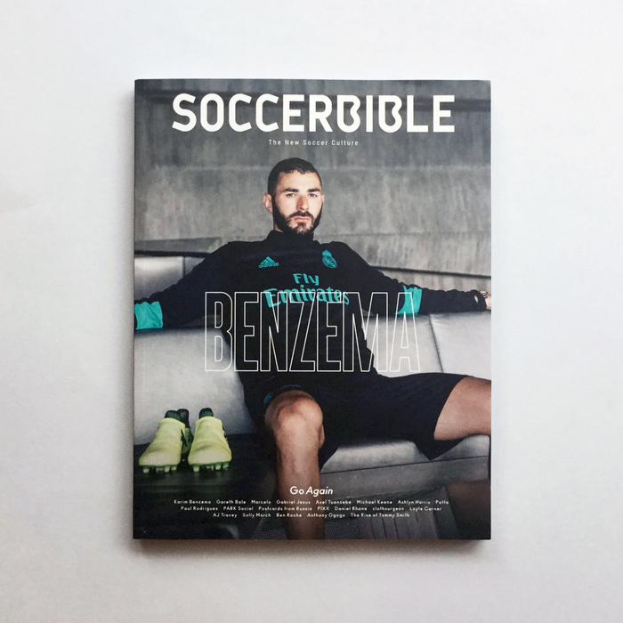 "Soccerbible magazine, Issue 9 ""Go Again"", 2017 2"