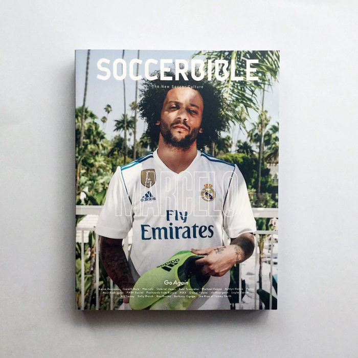 "Soccerbible magazine, Issue 9 ""Go Again"", 2017 1"