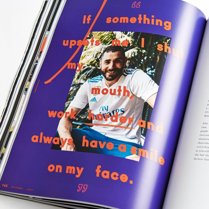 "Soccerbible magazine, Issue 9 ""Go Again"", 2017 5"