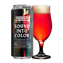 Sound Into Color beer packaging