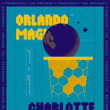 Orlando Magic vs. Charlotte Hornets Matchup poster