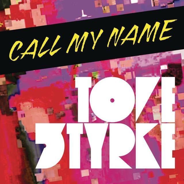 """Released on August 19, 2011, the single """"Call My Name"""" still uses Arco for the artist's name. The title is set in caps from Patty King's ITC Blaze."""