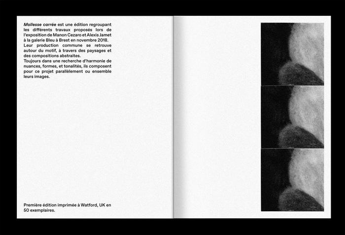 Mollesse Carrée exhibition catalog 3