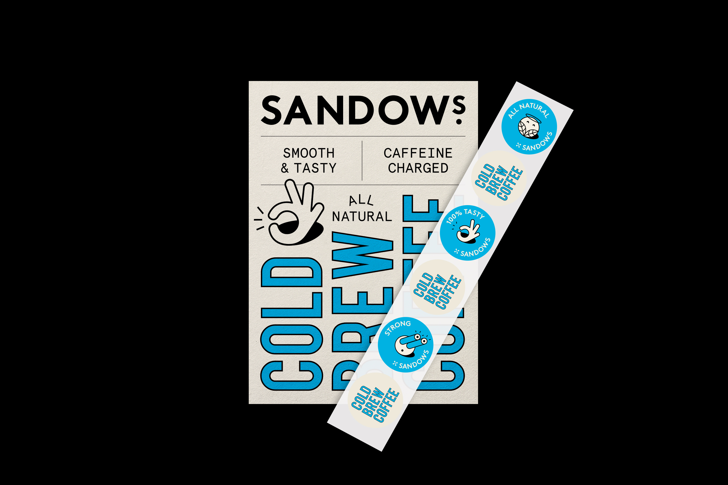 Sandows Cold Brew Coffee - Fonts In Use