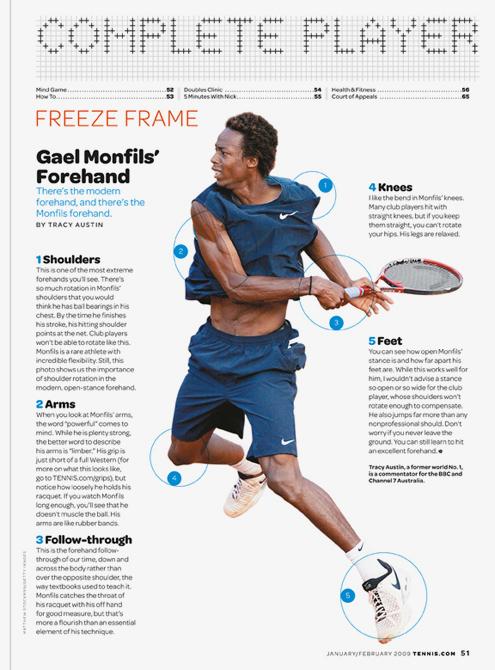 Tennis magazine 8