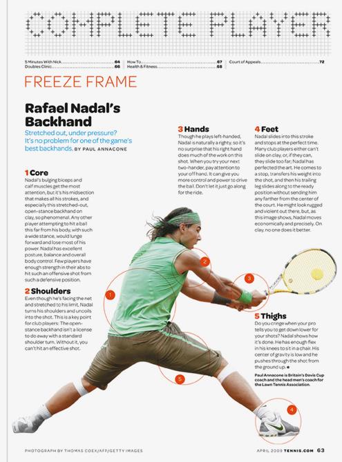 Tennis magazine 9