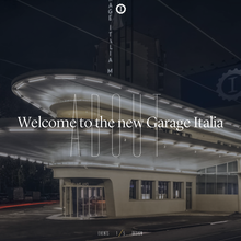 Garage Italia website