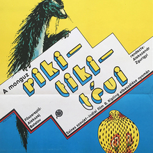 <cite>Riki-Tiki-Tévi</cite> (1979) Hungarian movie poster