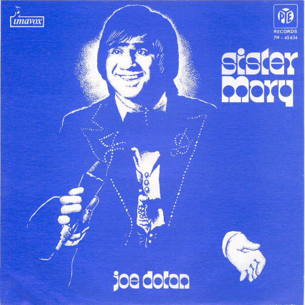 "Joe Dolan – ""Sister Mary"" / ""If I Could Put My Life On Paper"" Portuguese single sleeve 1"