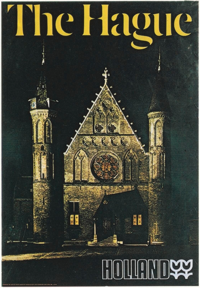 The Hague travel poster (1972) and Holland tourism logo (1969) 1