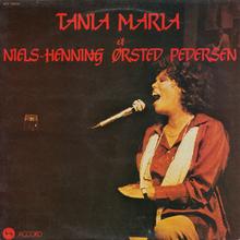 <cite>Tania Maria et Niels-Henning Ørsted Pedersen </cite>album art
