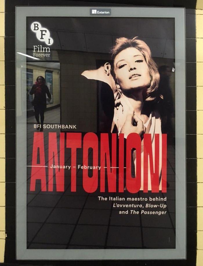 Antonioni at BFI Southbank 1