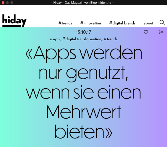 Hiday online magazine 1