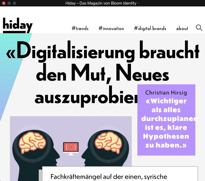 Hiday online magazine 2
