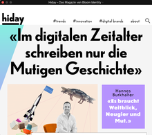 <cite>Hiday</cite> online magazine