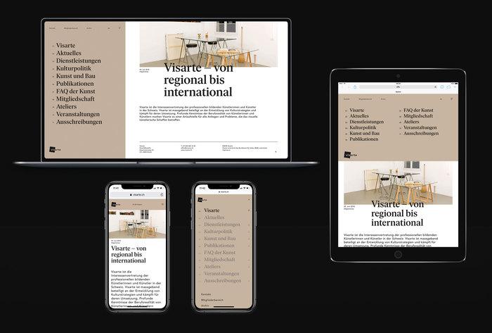 Visarte identity (2019–) 1