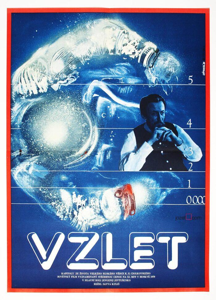 Vzlyot (1979) Czechoslovak movie poster 2