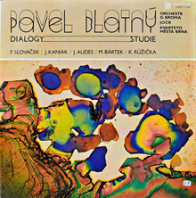 Pavel Blatný – <cite>Dialogy—Studie</cite> album art