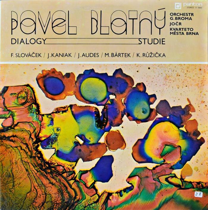 Pavel Blatný – Dialogy—Studie album art