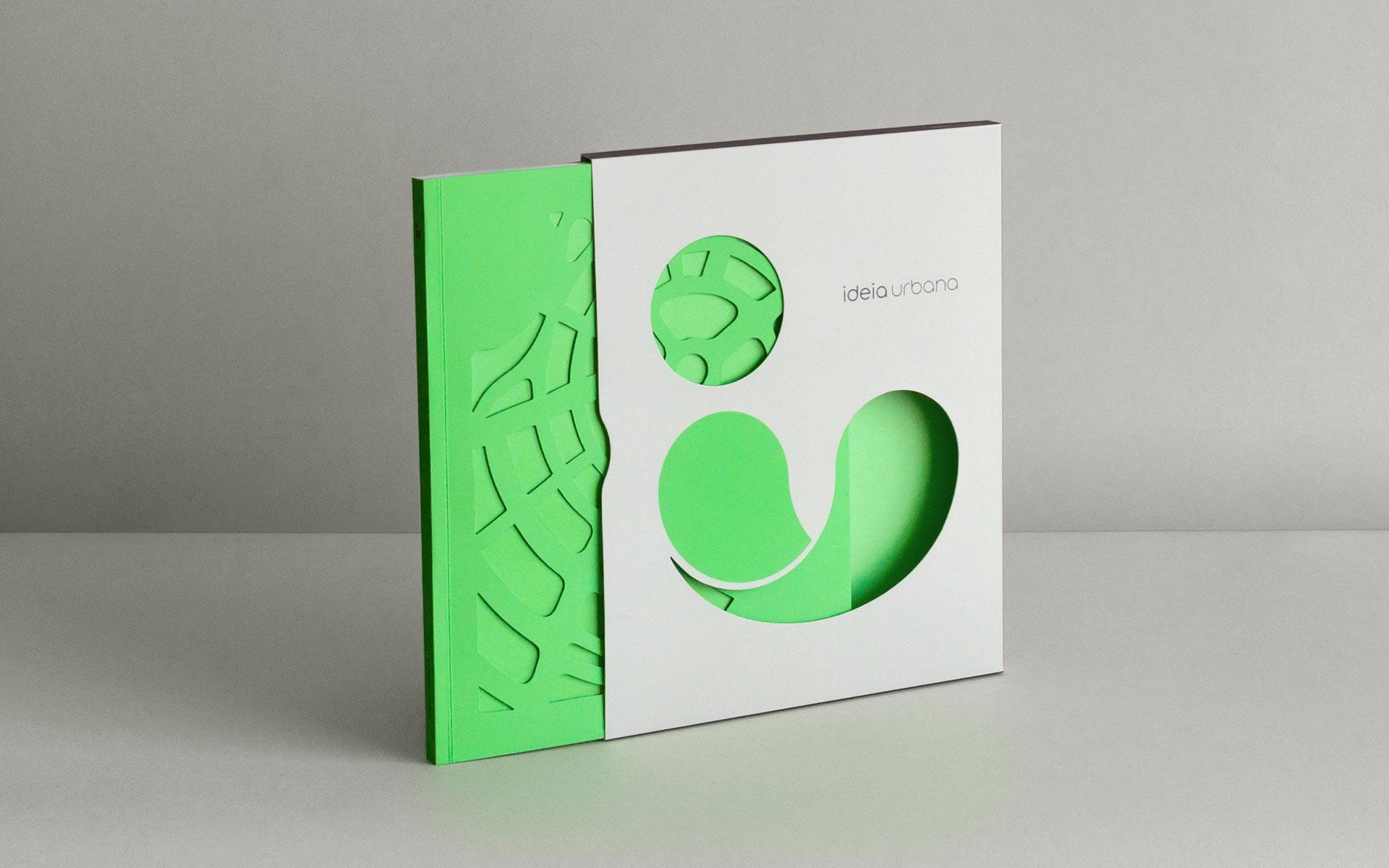 Ideia Urbana rebranding and portfolio book - Fonts In Use