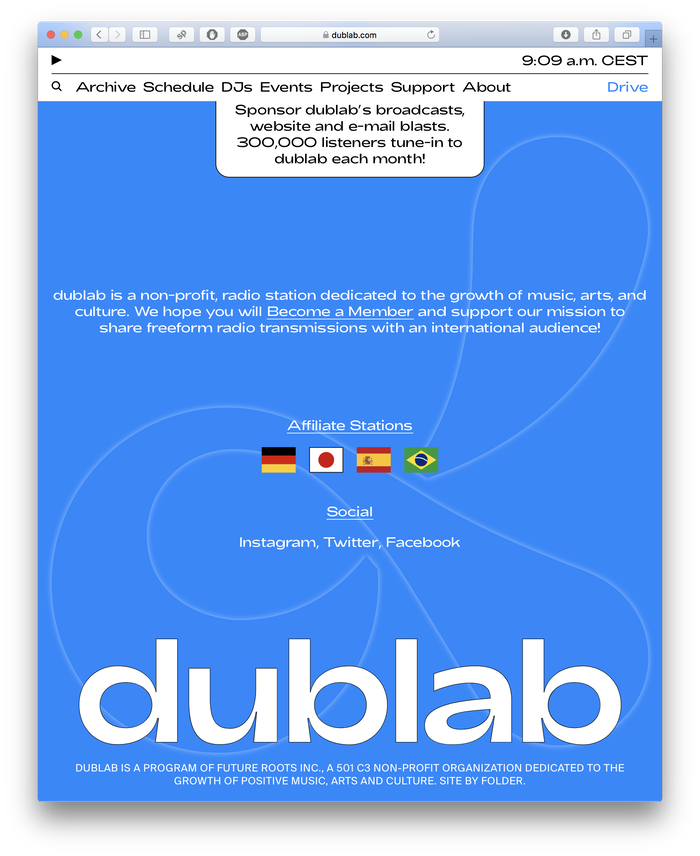 https://www.dublab.com/drive