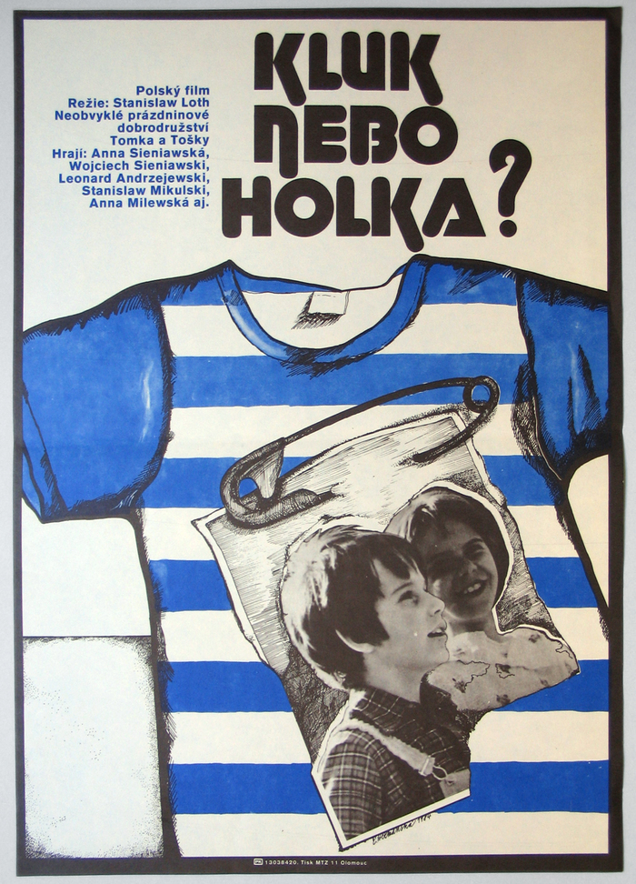 Kluk Nebo Holka? (1980) Czechoslovak movie poster