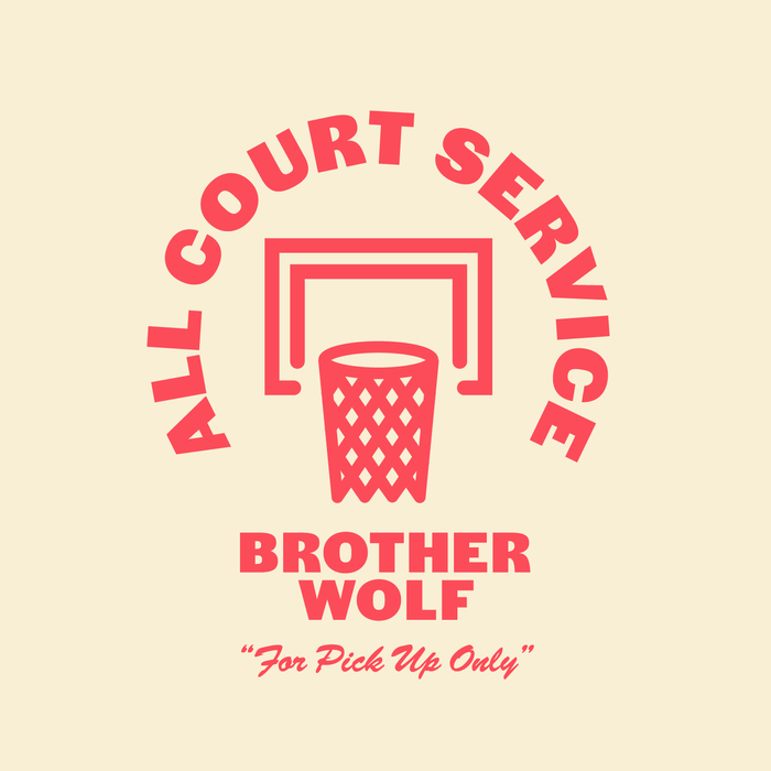 """All Court Service"" T-shirts for Brother Wolf 2"