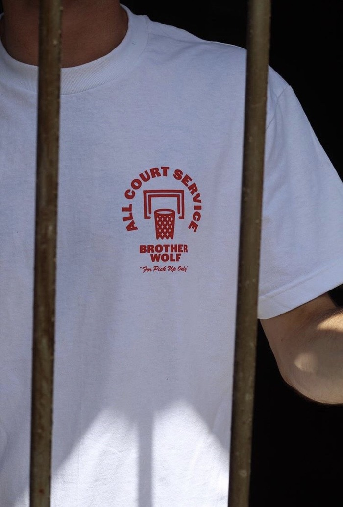 """All Court Service"" T-shirts for Brother Wolf 4"