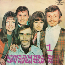 Wiatraki – <cite>1 </cite>album art