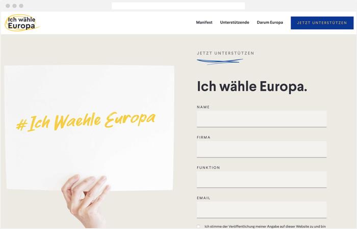 Ich wähle Europa 6