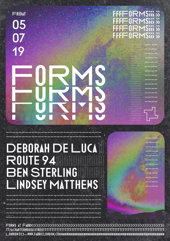 Fabric — Forms poster series 2019 4
