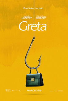<cite>Greta</cite> movie poster