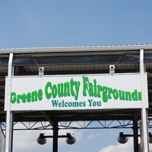Greene County Fairgrounds signs