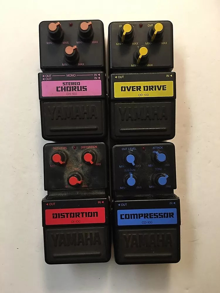 Yamaha SDS 100 series guitar effect pedals 2