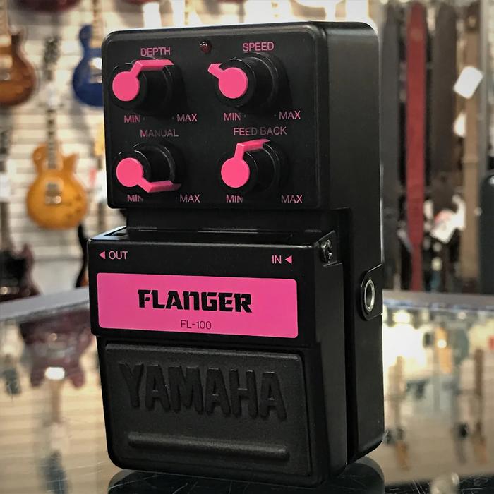 Yamaha SDS 100 series guitar effect pedals 3