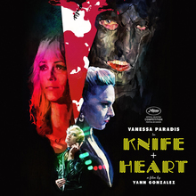 <cite>Knife + Heart</cite> movie poster
