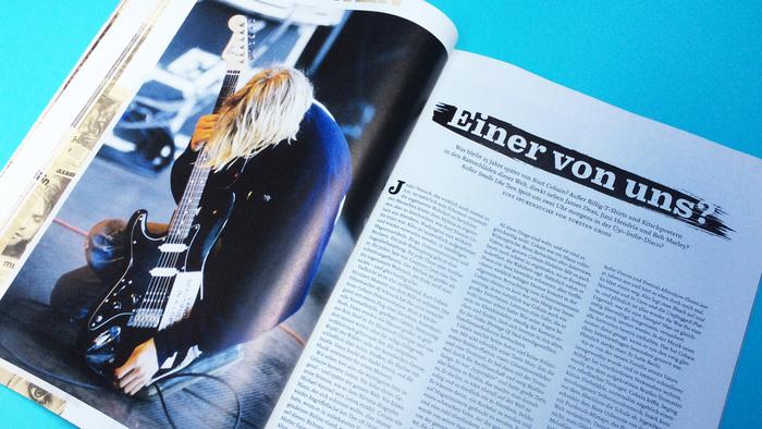 Visions magazine No. 313, Kurt Cobain special 1