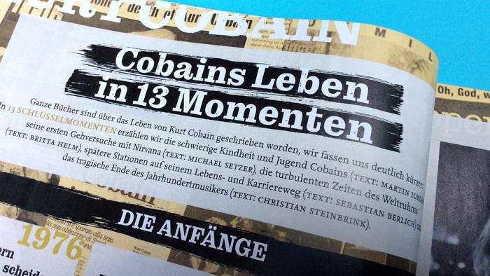 Visions magazine No. 313, Kurt Cobain special 5