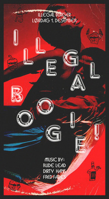 """Illegal Boogie!"" poster"